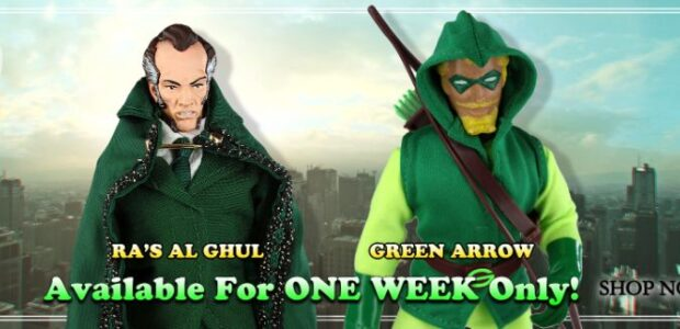 Topps has released a new set of exclusive action figures with Mego Figures. Up until Monday, September 20th, DC Comic's supervillain Ra's al Ghul and superhero the Green Arrow are […]
