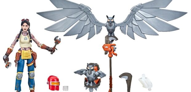 Hasbro revealed its all-new Fortnite Victory Royale Jules & Ohm action figures. The new figures are available for pre-order now exclusively on Amazon.com for $41.99 USD. Product Features:  UNLOCK […]