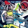 """""""Trover Saves the Universe #1 is chaotic, unbridled fun.""""—Comic Book Resources"""