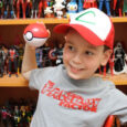 Sean's a huge Pokémon fan, so he's going to try hard to stump the Pokémon Trainer Guess